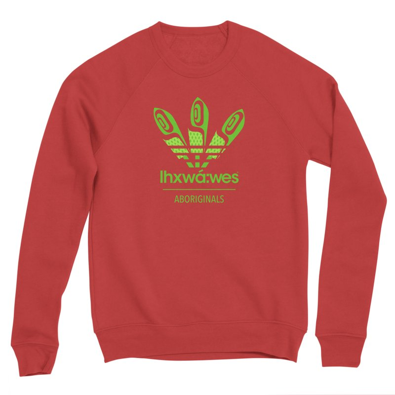 aboriginals green Women's Sponge Fleece Sweatshirt by Dedos tees