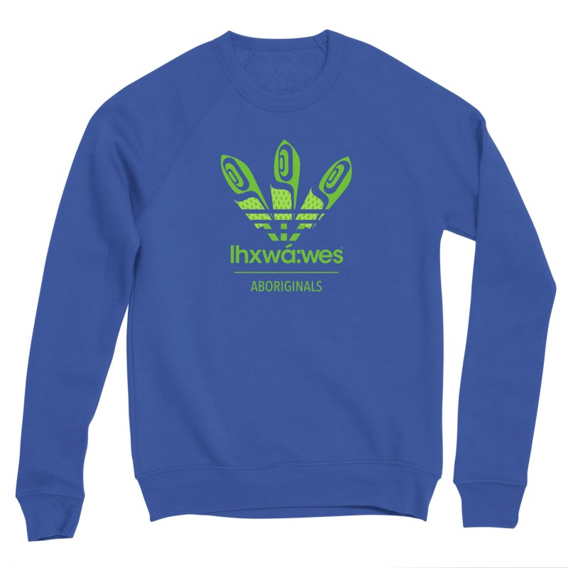 aboriginals green Women's Sweatshirt by Dedos tees