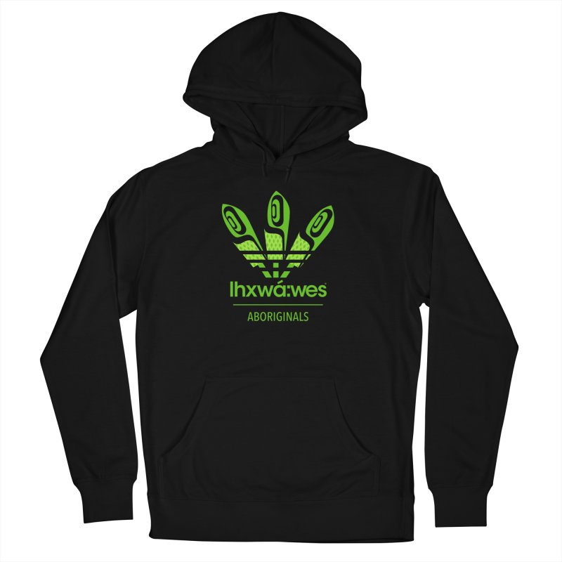 aboriginals green Women's French Terry Pullover Hoody by Dedos tees