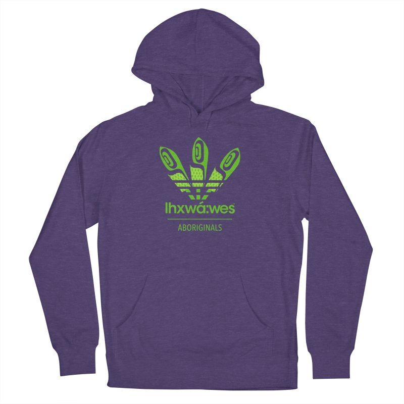 aboriginals green Men's French Terry Pullover Hoody by Dedos tees