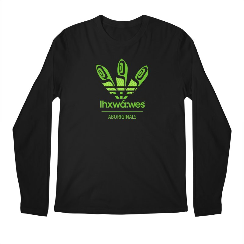 aboriginals green Men's Regular Longsleeve T-Shirt by Dedos tees