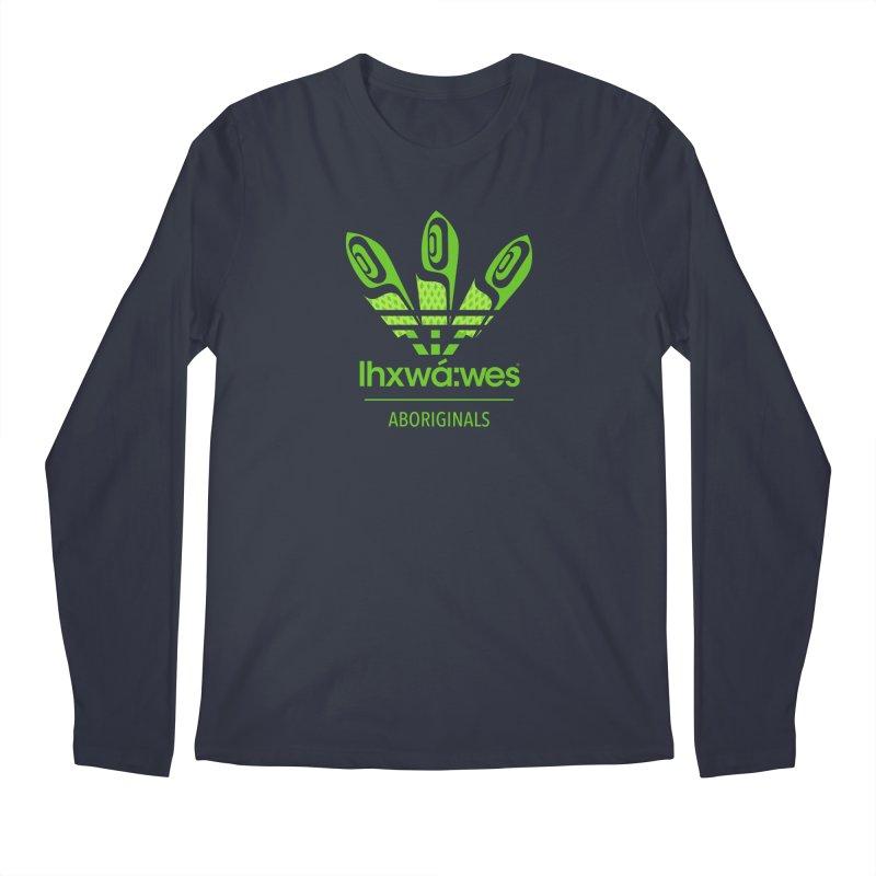 aboriginals green Men's Regular Longsleeve T-Shirt by Dedos tees