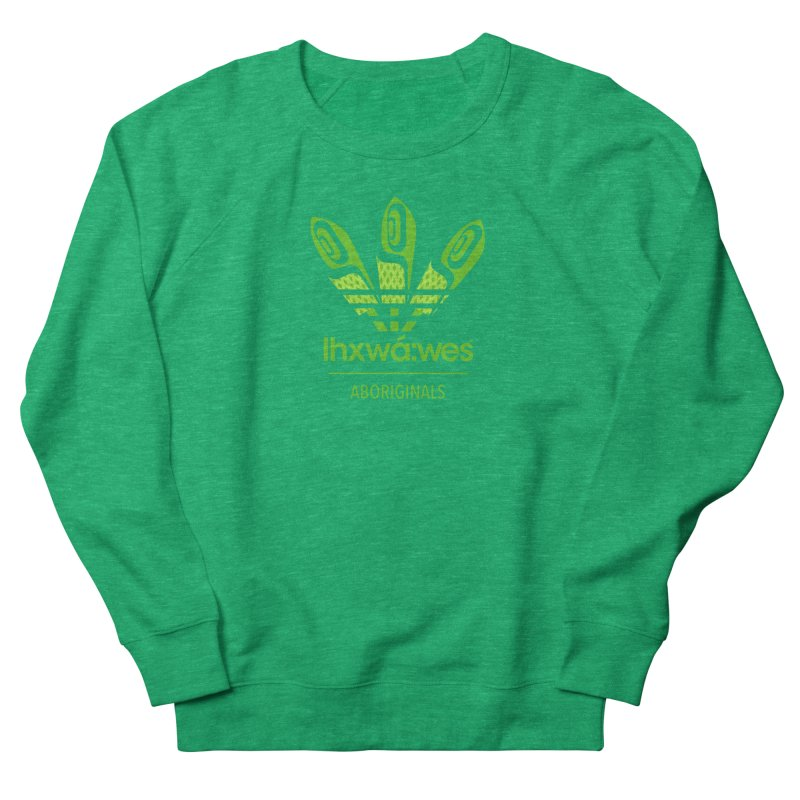 aboriginals green Women's Sweatshirt by Dedos tees