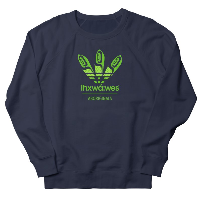 aboriginals green Men's French Terry Sweatshirt by Dedos tees