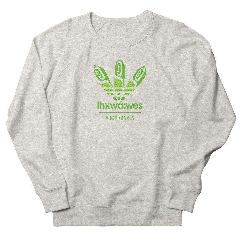 aboriginals green Men's French Terry Sweatshirt by Dedos tees