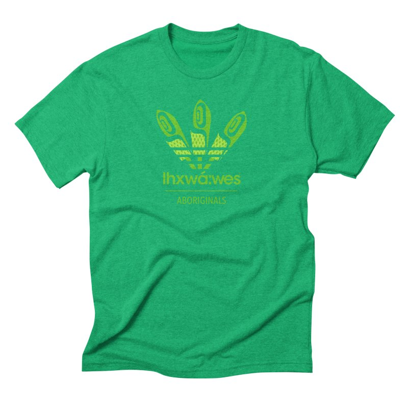 aboriginals green Men's Triblend T-Shirt by Dedos tees