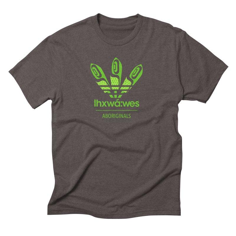 aboriginals green Men's Triblend T-Shirt by Dedos tees