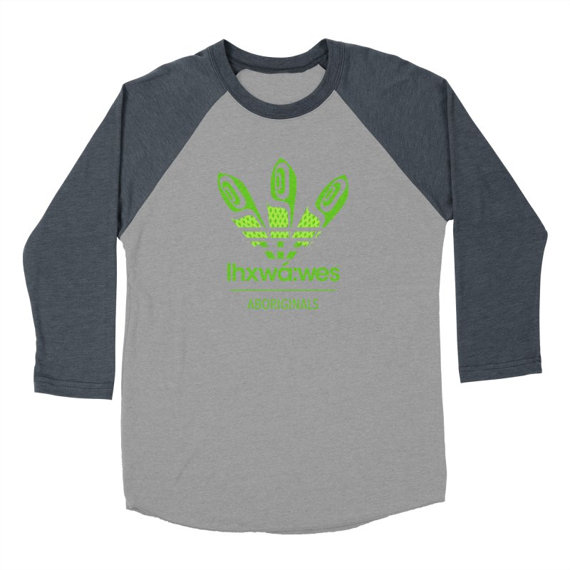 aboriginals green Women's Baseball Triblend Longsleeve T-Shirt by Dedos tees