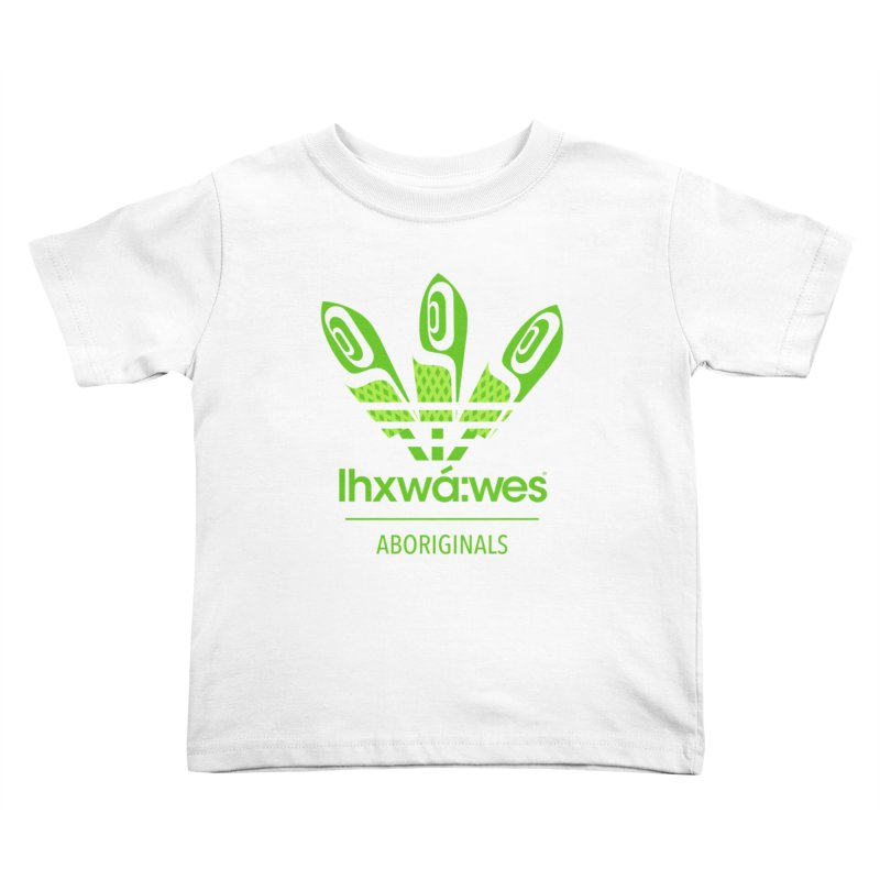 aboriginals green Kids Toddler T-Shirt by Dedos tees