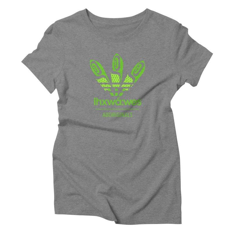 aboriginals green Women's Triblend T-Shirt by Dedos tees