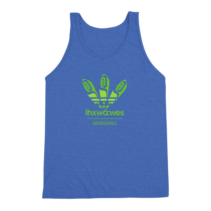 aboriginals green Men's Triblend Tank by Dedos tees