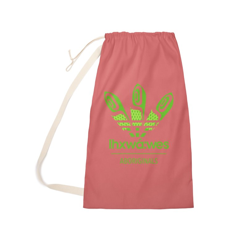 aboriginals green Accessories Laundry Bag Bag by Dedos tees