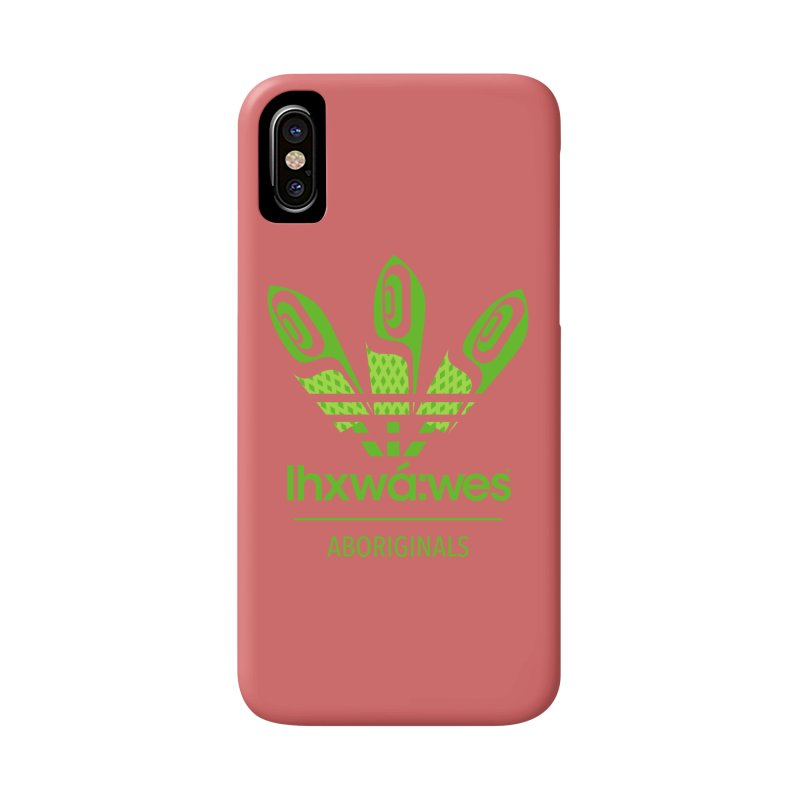 aboriginals green Accessories Phone Case by Dedos tees