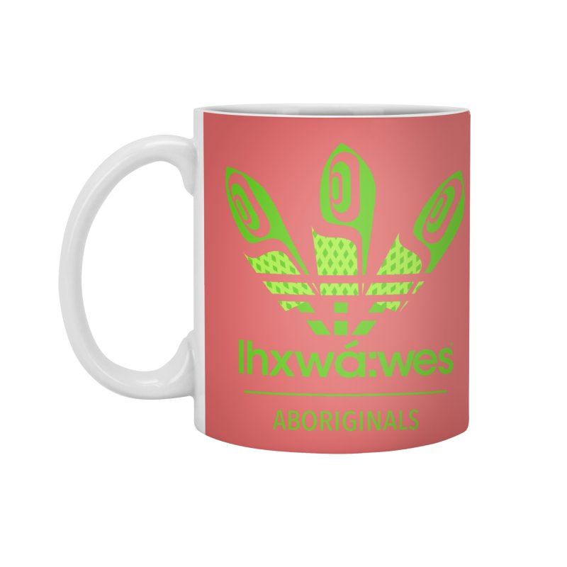 aboriginals green Accessories Standard Mug by Dedos tees