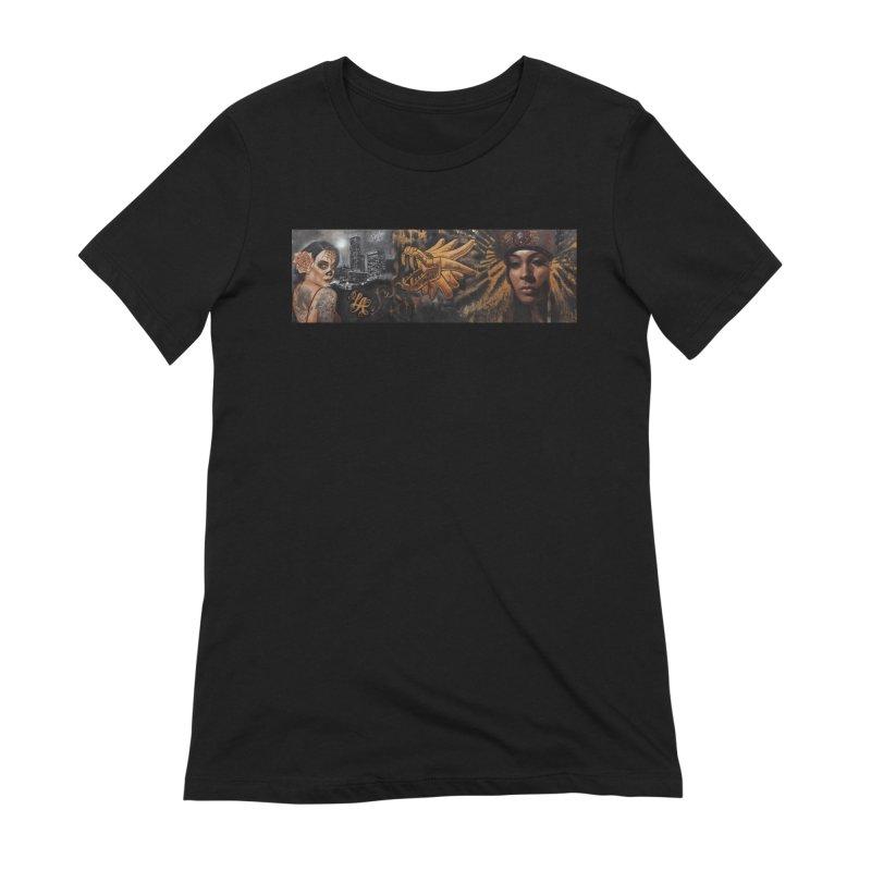 Nikko & Jonas Montejo Painting Women's Extra Soft T-Shirt by Defy The Ordinary