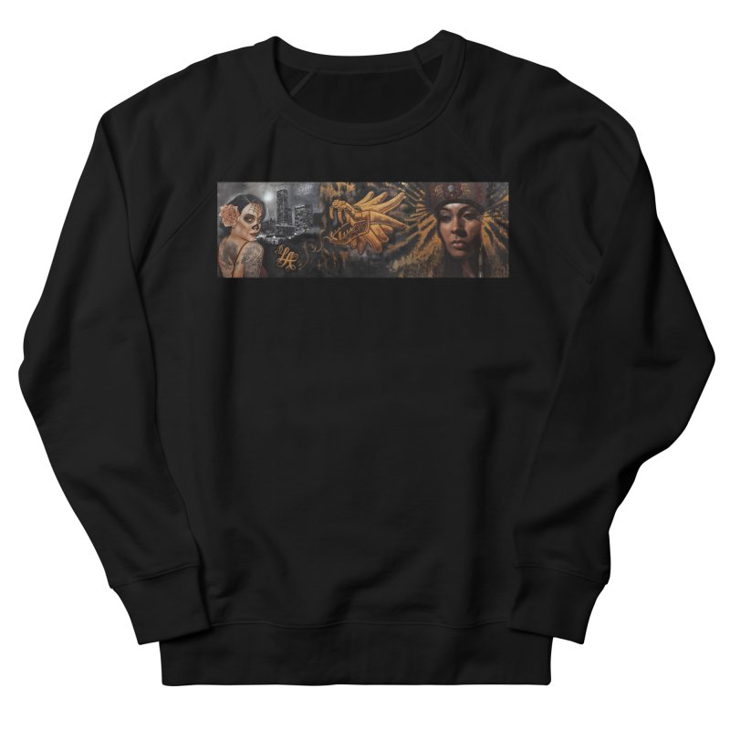 Nikko & Jonas Montejo Painting Women's French Terry Sweatshirt by Defy The Ordinary