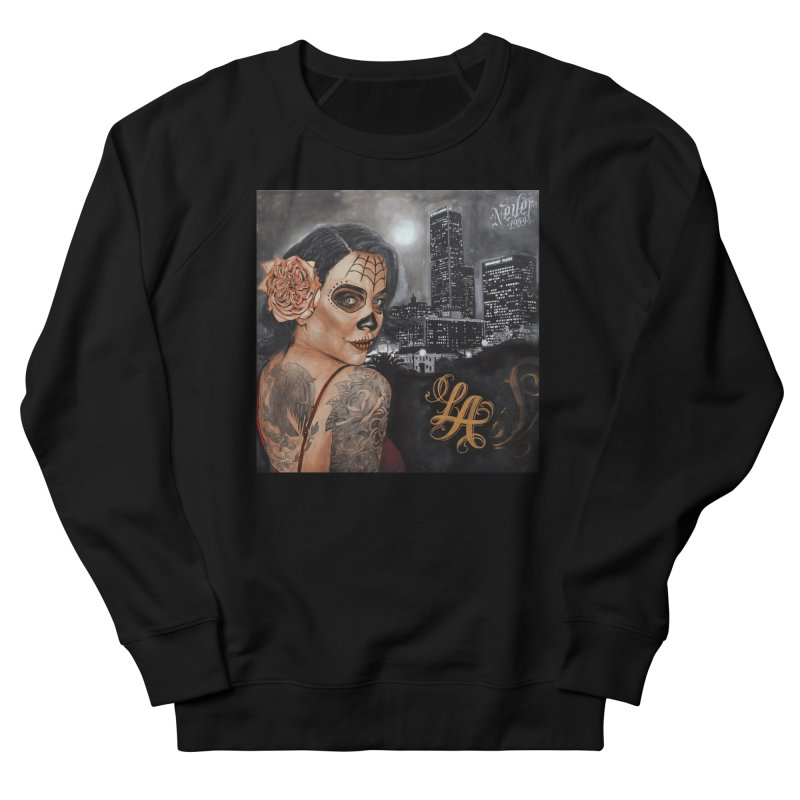 Jonas Never Painting Women's French Terry Sweatshirt by Defy The Ordinary