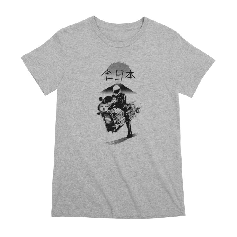 All Japan Autobike - LoFi Edition Women's Premium T-Shirt by Dega Studios