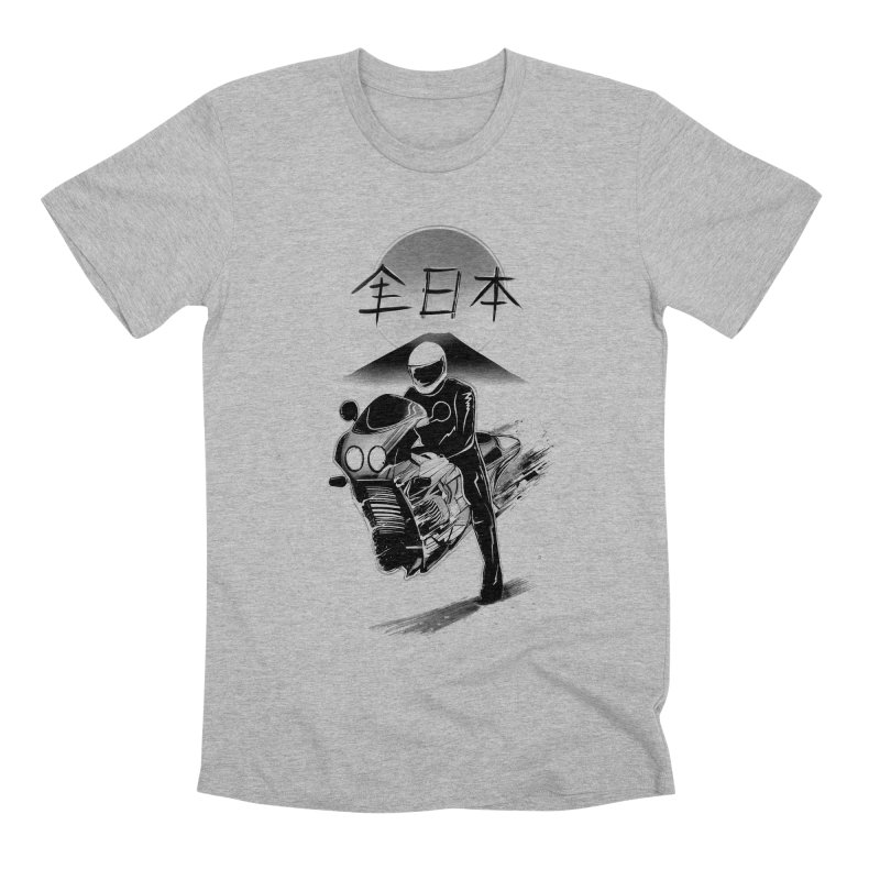 All Japan Autobike - LoFi Edition Men's Premium T-Shirt by Dega Studios