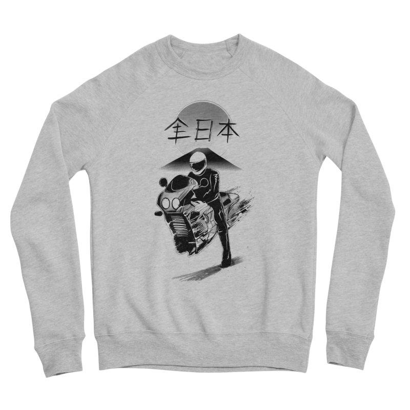 All Japan Autobike - LoFi Edition Women's Sponge Fleece Sweatshirt by Dega Studios