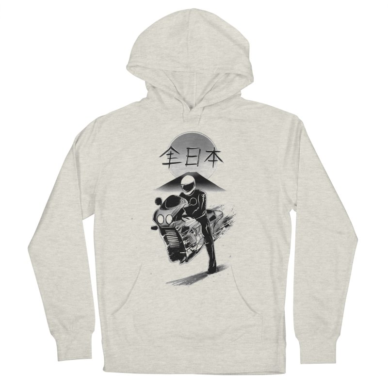 All Japan Autobike - LoFi Edition Women's French Terry Pullover Hoody by Dega Studios