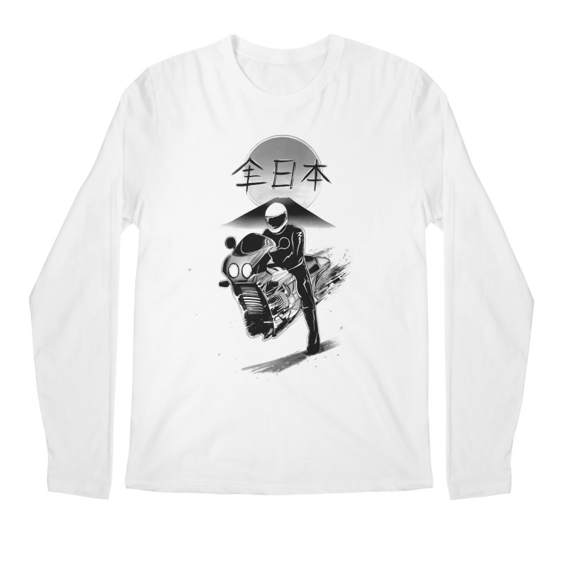 All Japan Autobike - LoFi Edition Men's Regular Longsleeve T-Shirt by Dega Studios