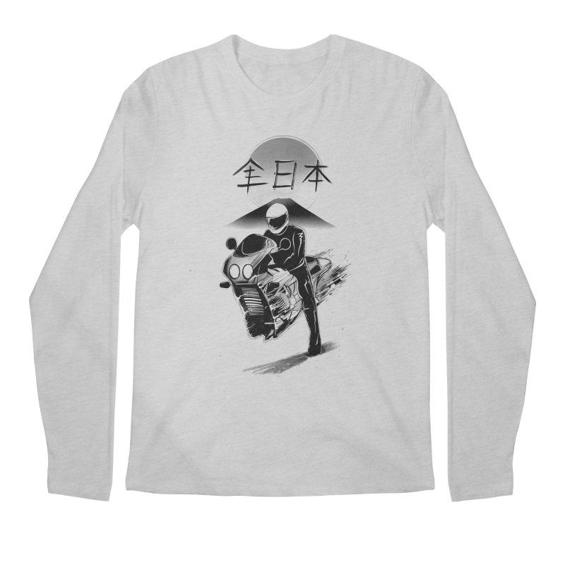 All Japan Autobike - LoFi Edition Men's Regular Longsleeve T-Shirt by Dega Studios