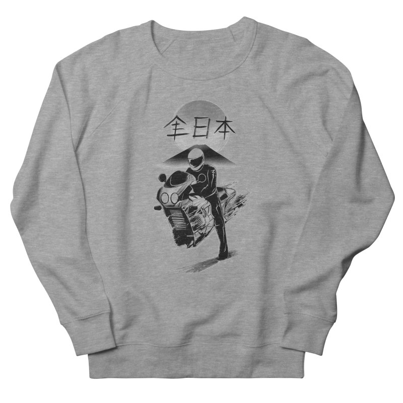 All Japan Autobike - LoFi Edition Women's French Terry Sweatshirt by Dega Studios