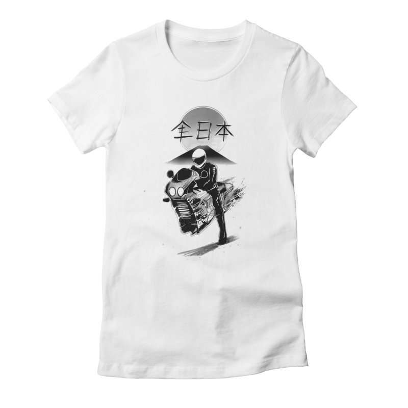 All Japan Autobike - LoFi Edition Women's T-Shirt by Dega Studios