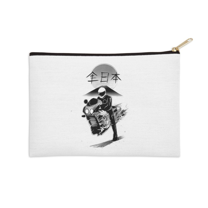 All Japan Autobike - LoFi Edition Accessories Zip Pouch by Dega Studios