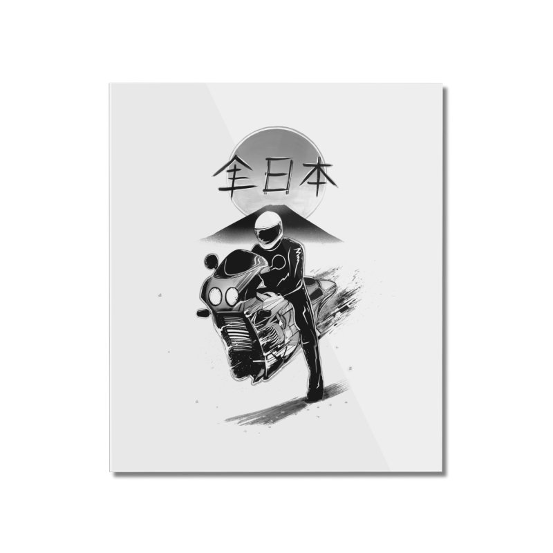 All Japan Autobike - LoFi Edition Home Mounted Acrylic Print by Dega Studios