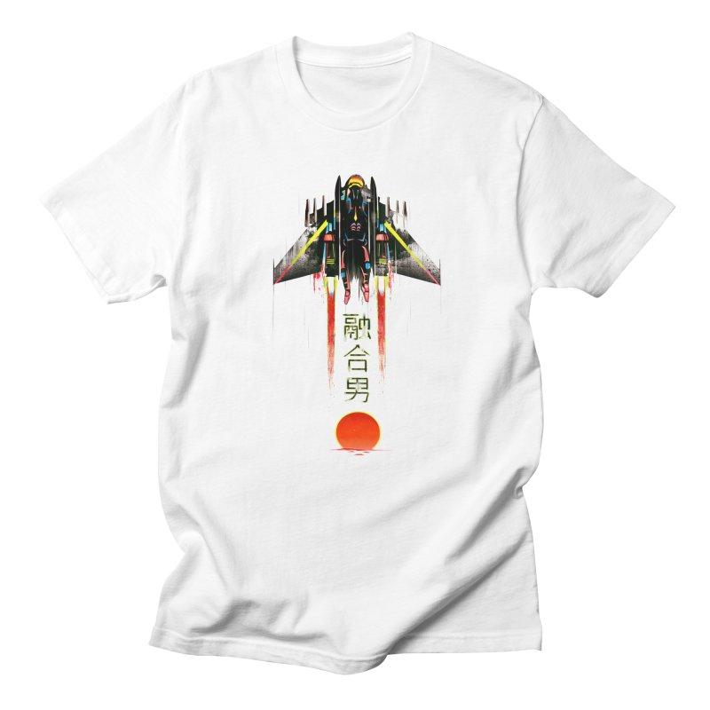 Fusionman Men's T-Shirt by Dega Studios