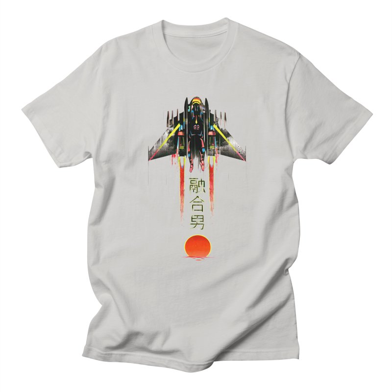 Fusionman Men's T-Shirt by Dega Studios