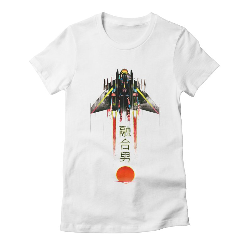 Fusionman Women's Fitted T-Shirt by Dega Studios