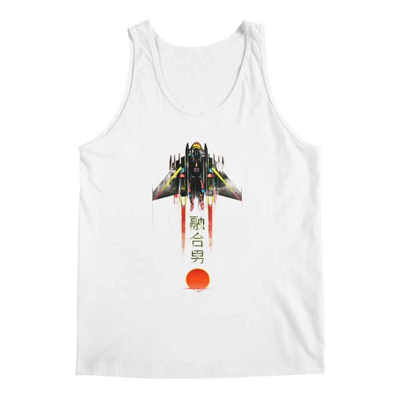 Fusionman Men's Regular Tank by Dega Studios