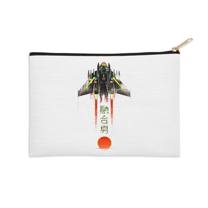 Fusionman Accessories Zip Pouch by Dega Studios