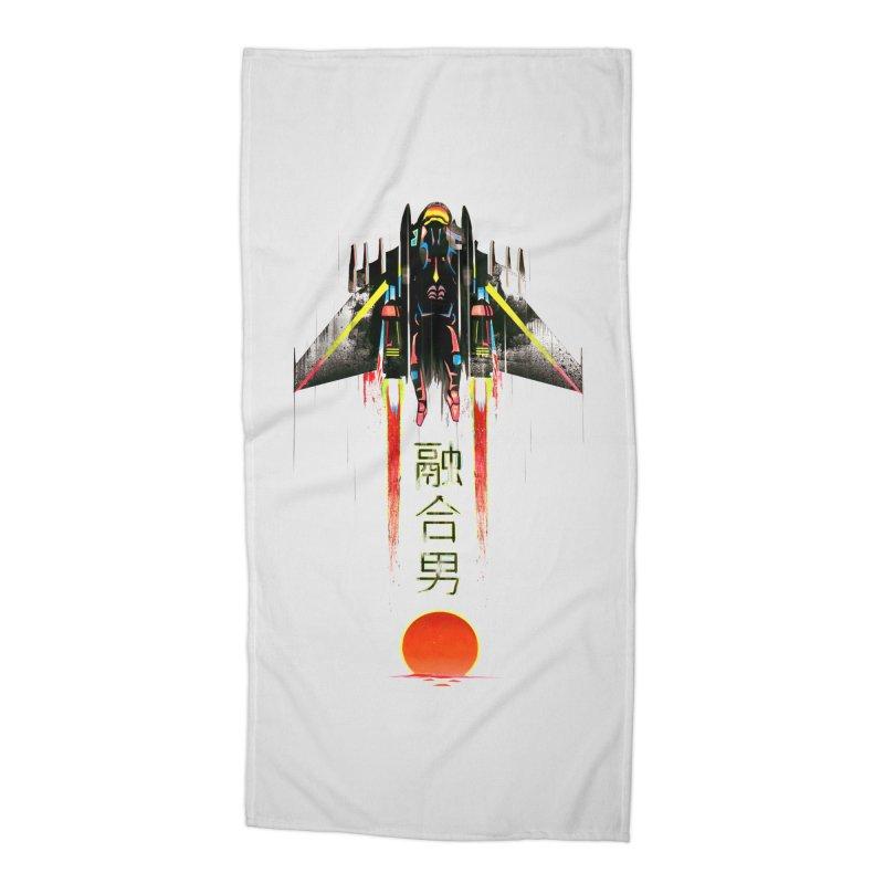 Fusionman Accessories Beach Towel by Dega Studios