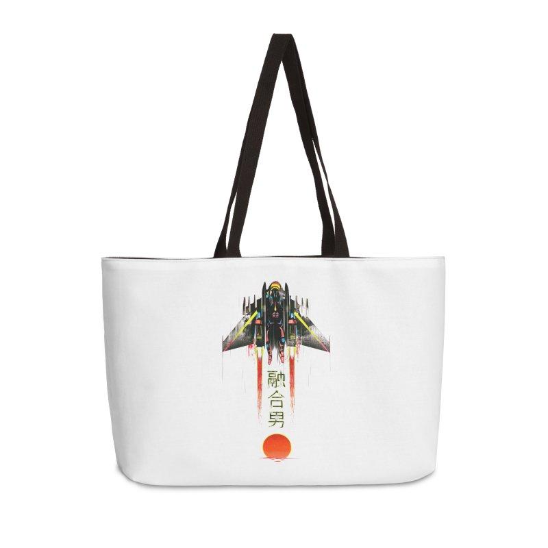 Fusionman Accessories Weekender Bag Bag by Dega Studios