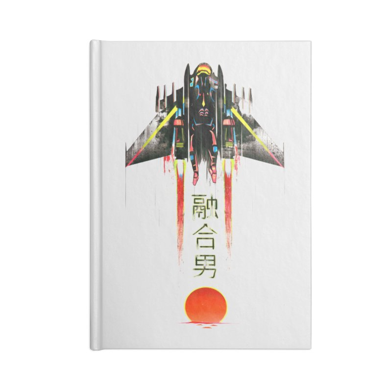 Fusionman Accessories Notebook by Dega Studios