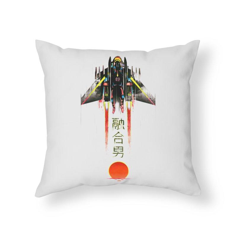 Fusionman Home Throw Pillow by Dega Studios