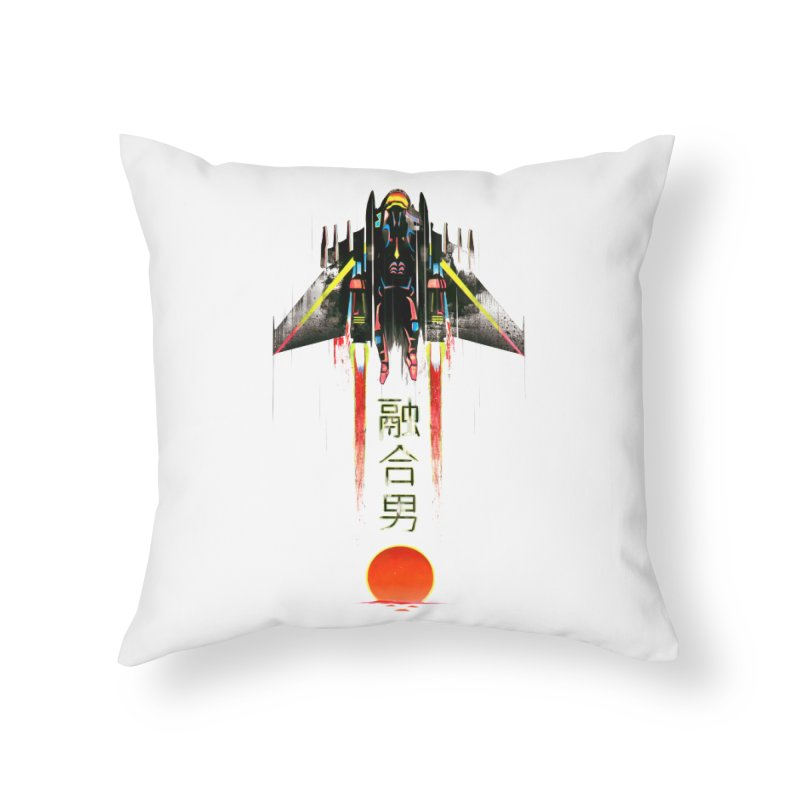 Fusionman Home Throw Pillow by Dega Studios