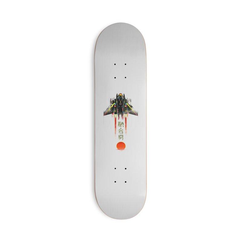 Fusionman Accessories Skateboard by Dega Studios