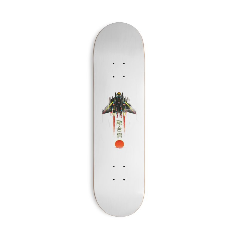 Fusionman Accessories Deck Only Skateboard by Dega Studios