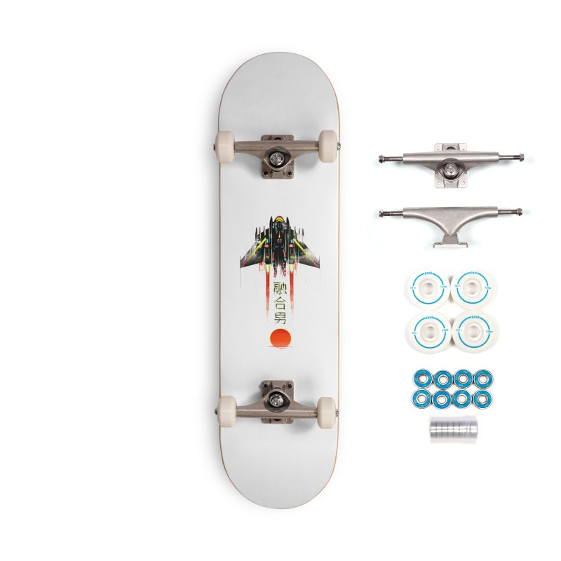 Fusionman Accessories Complete - Basic Skateboard by Dega Studios