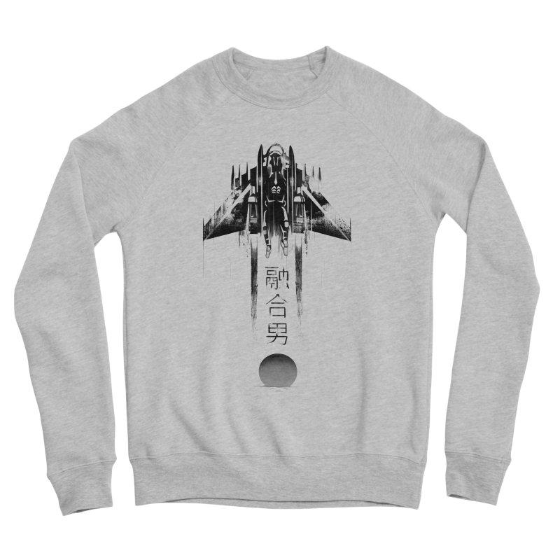 Fusionman - LoFi Edition Men's Sponge Fleece Sweatshirt by Dega Studios