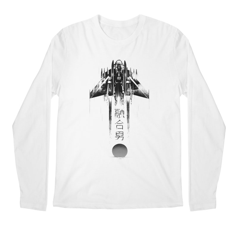 Fusionman - LoFi Edition Men's Regular Longsleeve T-Shirt by Dega Studios