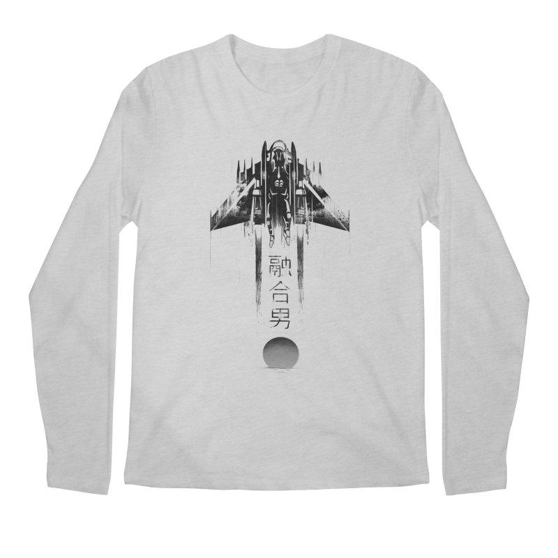 Fusionman - LoFi Edition Men's Regular Longsleeve T-Shirt by Dega Studios