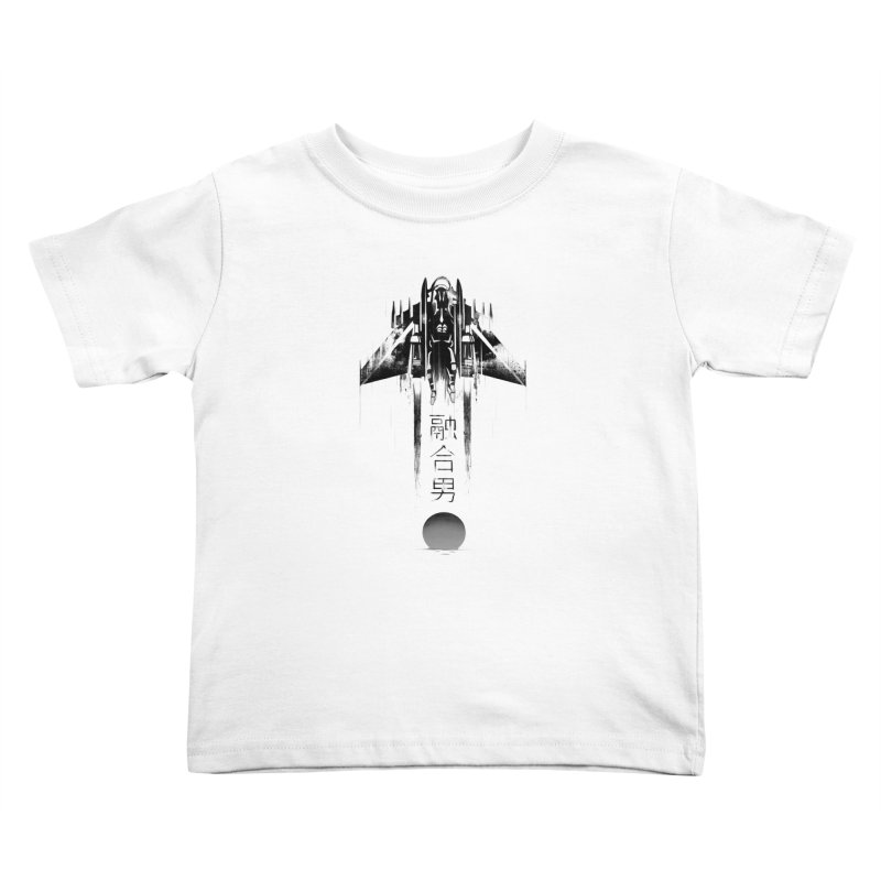 Fusionman - LoFi Edition Kids Toddler T-Shirt by Dega Studios