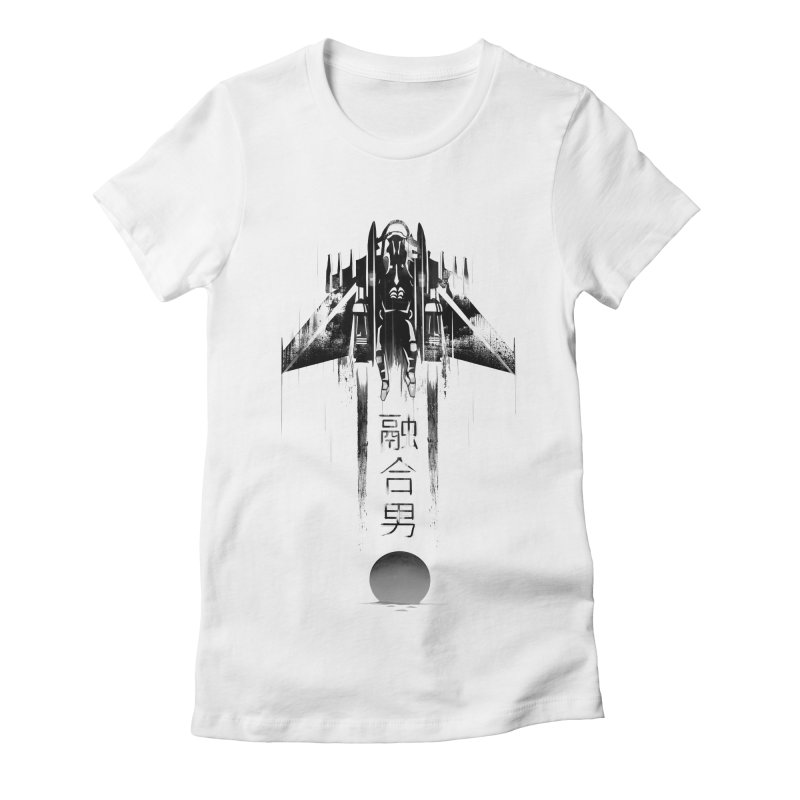 Fusionman - LoFi Edition Women's Fitted T-Shirt by Dega Studios