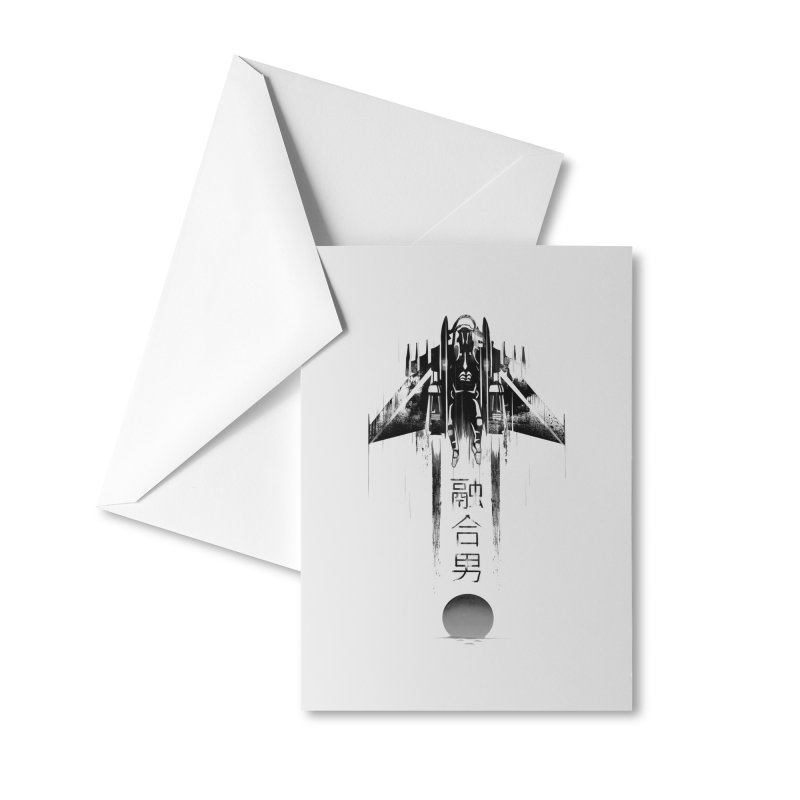 Fusionman - LoFi Edition Accessories Greeting Card by Dega Studios